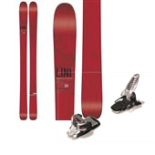 Line Skis Supernatural 100 Skis + Marker Griffon Ski Bindings 2015