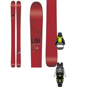 Line Skis Supernatural 100 Skis + Salomon STH2 13 Ski Bindings 2015