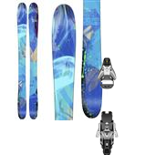 Line Skis Pandora Skis - Women's + Salomon STH2 13 Ski Bindings 2015