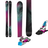 Line Skis Soulmate 98 Skis - Women's + Marker Squire Ski Bindings - Women's 2015
