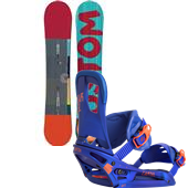 Burton Custom Snowboard + Cartel EST Bindings 2015