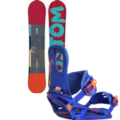 Burton Custom Flying V Snowboard + Cartel EST Bindings 2015