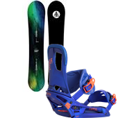 Burton Family Tree Landlord Snowboard + Cartel EST Bindings 2015