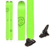 K2 Shreditor 136 Skis + Marker Jester Ski Bindings 2015