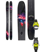 Atomic Bent Chetler Skis + Salomon STH2 16 Ski Bindings 2015