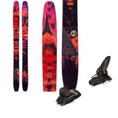 Atomic Automatic 117 Skis + Marker Jester Ski Bindings 2015