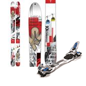 K2 Coomback 104 Skis + Marker Tour F12 EPF Large Alpine Touring Ski Bindings 2015