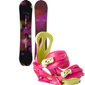 Burton Genie Snowboard + Citizen Bindings - Women's 2015
