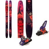Atomic Automatic 117 Skis + Marker Jester Pro Ski Bindings 2015