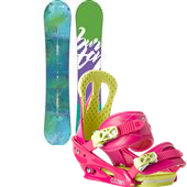 Burton Feather Snowboard + Citizen Bindings - Women's 2015