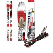 K2 Coomback 104 Skis + Marker Baron EPF Small Ski Bindings 2015