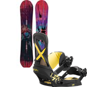 Burton Deja Vu Flying V Snowboard + Lexa EST Bindings - Women's 2015