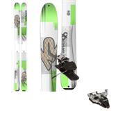 K2 Wayback 96 Skis + Dynafit TLT Radical ST Ski Bindings 2015