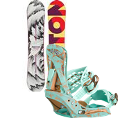Burton Feelgood Snowboard + Escapade EST Bindings - Women's 2015