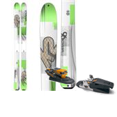 K2 Wayback 96 Skis + G3 Ruby Alpine Touring Bindings - Women's 2015