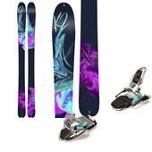 K2 Potion 90XTi Skis - Women's + Marker Squire Ski Bindings - Women's 2015