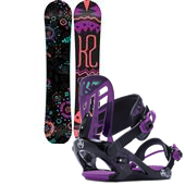 K2 Kandi Snowboard + Kat Bindings - Girl's 2015