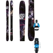 Atomic Ritual Skis + STH2 13 Ski Bindings 2015