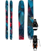 Atomic Automatic 109 Skis + STH2 16 Ski Bindings 2015