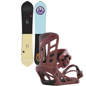 K2 Happy Hour Snowboard + Formula Bindings 2015