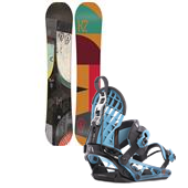 K2 Turbo Dream Snowboard + Cinch CTS Bindings 2015