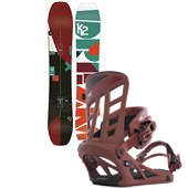 K2 Ultra Dream Snowboard + Formula Bindings 2015