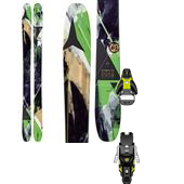 Atomic Automatic 102 Skis + Salomon STH2 13 Ski Bindings 2015