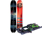 K2 Ultrasplit Splitboard + Kwicker BC Bindings 2015