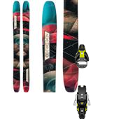 Atomic Century 109 Skis - Women's + Salomon STH2 13 Ski Bindings 2015
