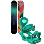 K2 Bright Lite Snowboard + Cassette Bindings - Women's 2015