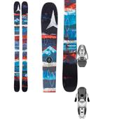 Atomic Supreme Skis + Salomon Z10 Ti Ski Bindings - Women's 2015