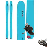 DPS Yvette 112 RP.2 Hybrid Skis - Women's + Dynafit TLT Radical ST Ski Bindings 2015