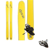 DPS Wailer 112RP.2 Pure3 Skis + Dynafit TLT Radical ST Ski Bindings 2015