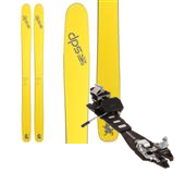 DPS Wailer 112RP.2 Pure3 Skis + Dynafit TLT Radical FT Ski Bindings 2015