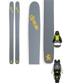 DPS Wailer 112RPC Pure3 Skis + Salomon STH2 13 Ski Bindings 2015