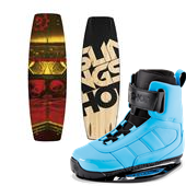 Slingshot Whip Wakeboard + RAD Bindings 2015