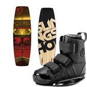 Slingshot Whip Wakeboard + KTV Bindings 2015