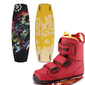 Slingshot Shredtown Wakeboard + Shredtown Bindings 2015