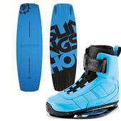 Slingshot Blue Pill Wakeboard + RAD Bindings 2015