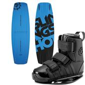 Slingshot Blue Pill Wakeboard + KTV Bindings 2015