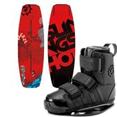 Slingshot Recoil Wakeboard + KTV Bindings 2015