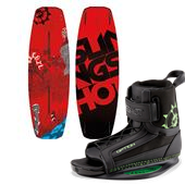 Slingshot Recoil Wakeboard + Option Bindings 2015