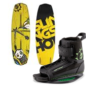Slingshot Response Wakeboard + Option Bindings 2015