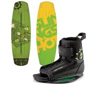 Slingshot Reflex Wakeboard + Option Bindings 2015