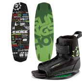 Slingshot Choice Wakeboard + Option Bindings 2015