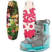 Slingshot Pearl Wakeboard + Jewel Bindings - Women's 2015