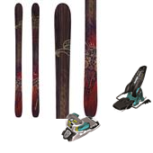 Nordica El Capo Skis + Marker Jester Bindings 2014