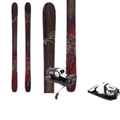 Nordica El Capo Skis + Rossignol Freeski2 120 Bindings 2014
