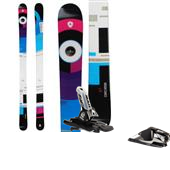 Dynastar Distorter Skis + PX 12 Bindings 2014