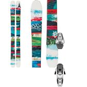Atomic Elysian Skis + Salomon Z10 Ti Bindings - Women's 2015
